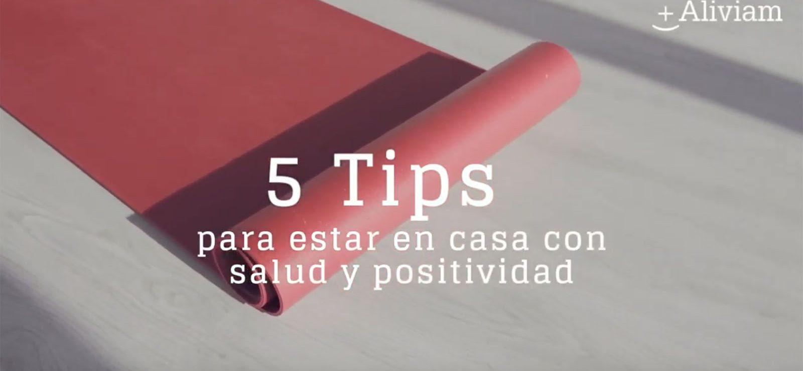 5 tips para un confinamiento saludable en casa