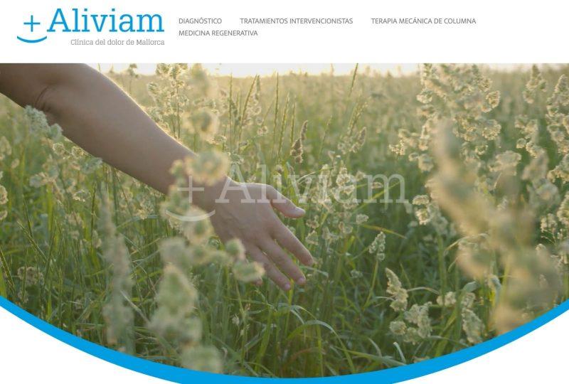 Nueva web aliviam
